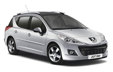 Algarve Car Hire PEUGEOT 208 SW (SMALL ESTATE), SKODA FABIA BREAK, SEAT IBIZA ST